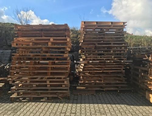 Holzpaletten gegen Abholung zu verschenken